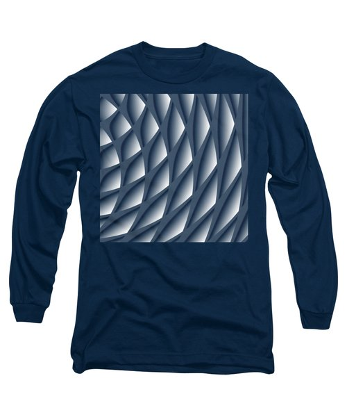 Points Abstract Colour Choice Long Sleeve T-Shirt by Barbara Moignard