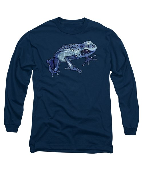 Poison Dart Frog Long Sleeve T-Shirt by ZH Field