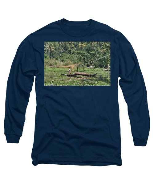 Pole Position Long Sleeve T-Shirt by Marion Galt
