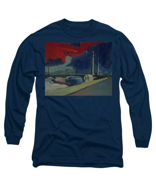 Pont Fragnee In Liege Long Sleeve T-Shirt