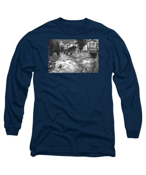 Ponte Di Legno  Long Sleeve T-Shirt by Cesare Bargiggia