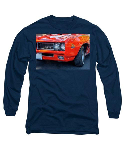 Pontiac G T O Judge 1969 Convertible Long Sleeve T-Shirt
