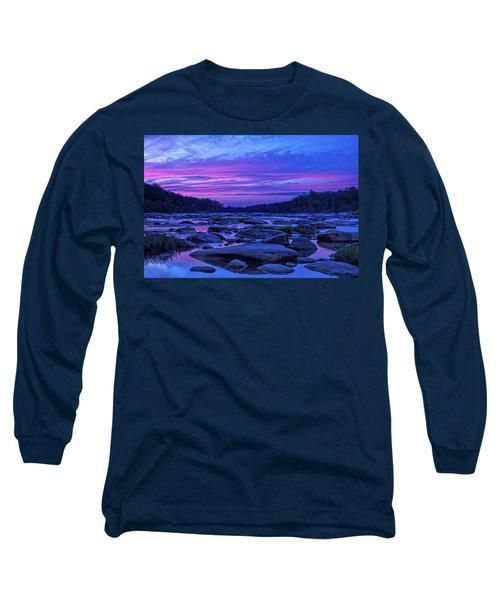 Pony Pasture Sunset Long Sleeve T-Shirt
