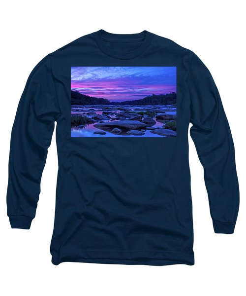 Pony Pasture Sunset Long Sleeve T-Shirt
