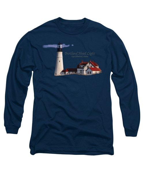 Portland Head Light No. 43 Long Sleeve T-Shirt