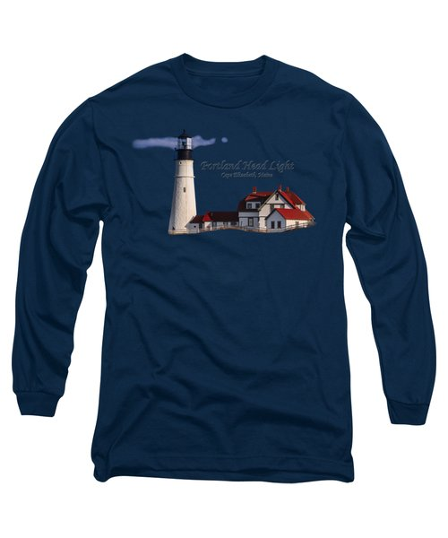 Portland Head Light No. 43 Long Sleeve T-Shirt