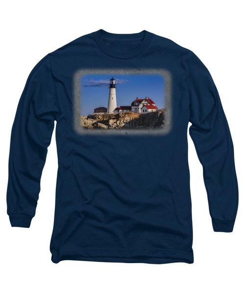 Portland Head Light No. 44 Long Sleeve T-Shirt