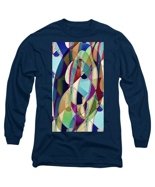 Portrait Of A Friend Long Sleeve T-Shirt