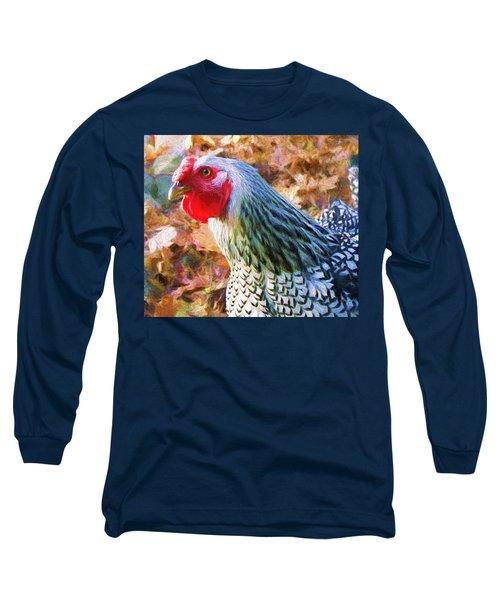 Portrait Of Rosie Long Sleeve T-Shirt