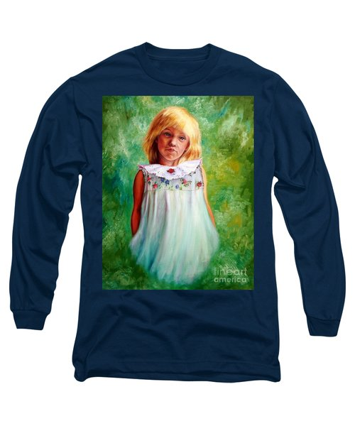 Portrait Of Sara Long Sleeve T-Shirt