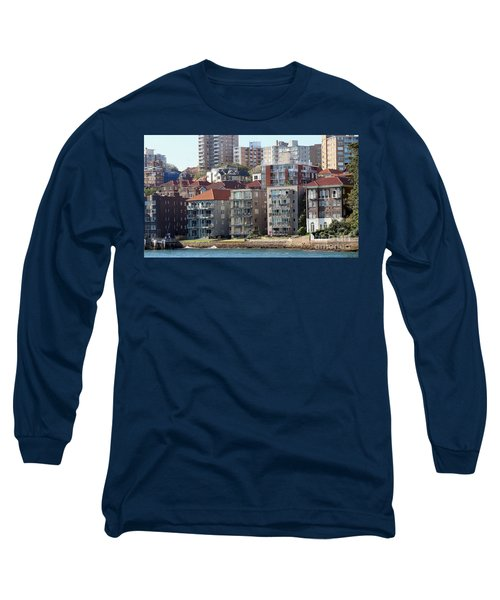 Long Sleeve T-Shirt featuring the photograph Posh Burbs by Stephen Mitchell