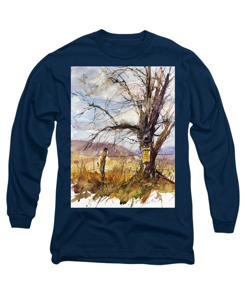 Posted Long Sleeve T-Shirt by Judith Levins