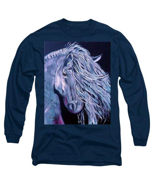 Potro Long Sleeve T-Shirt by Manuel Sanchez