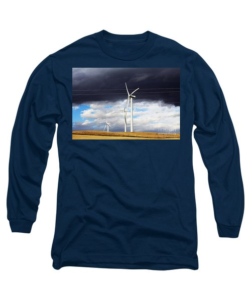 Power-full Long Sleeve T-Shirt by Alyce Taylor
