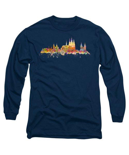Prague Landmarks Long Sleeve T-Shirt