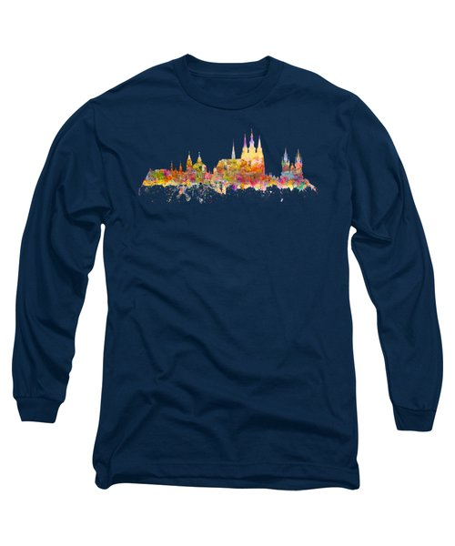 Prague Landmarks Long Sleeve T-Shirt