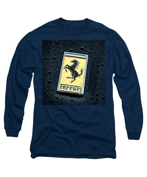 Prancing Stallion Long Sleeve T-Shirt by Douglas Pittman