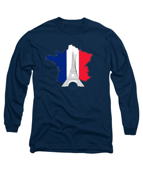 Pray For Paris Long Sleeve T-Shirt by Bedros Awak