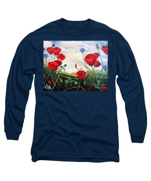 Prayer And Praise Long Sleeve T-Shirt