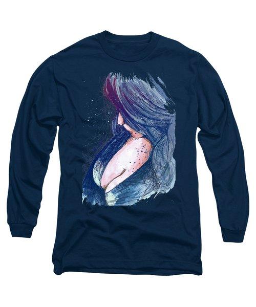 Prayers For Rain - Blue Long Sleeve T-Shirt