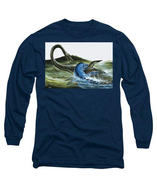 Prehistoric Creatures Long Sleeve T-Shirt