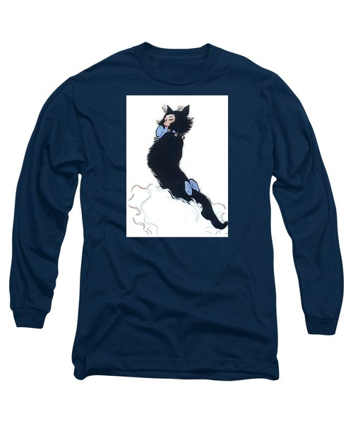 Long Sleeve T-Shirt featuring the digital art Pretty Kitty by ReInVintaged