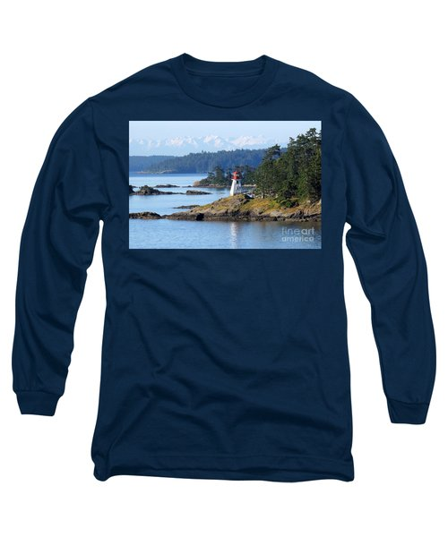 Prevost Island Lighthouse Long Sleeve T-Shirt