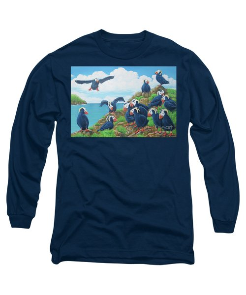 Puffins Long Sleeve T-Shirt