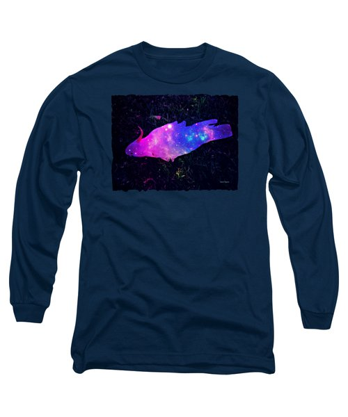 Pulling Weeds In Time And Space Long Sleeve T-Shirt