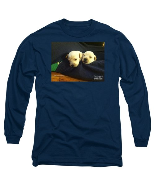 Puppy Love Long Sleeve T-Shirt by MaryLee Parker