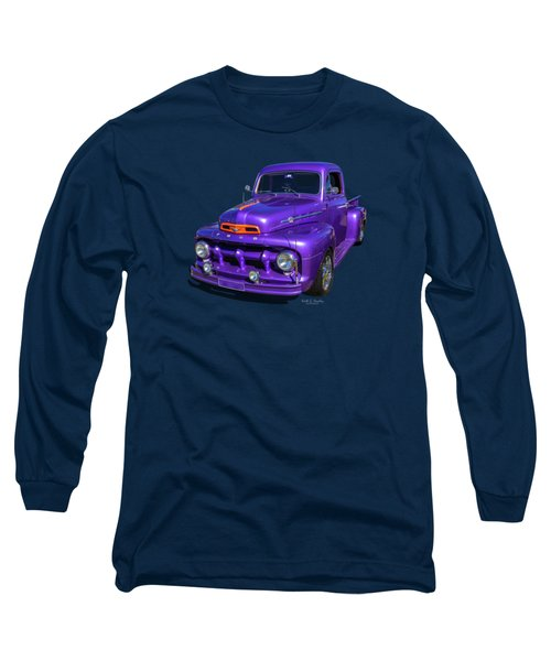 Purple 51 Long Sleeve T-Shirt
