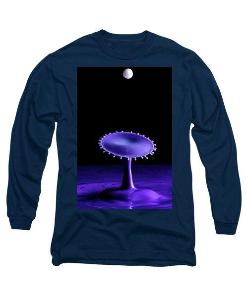 Purple Drop Long Sleeve T-Shirt