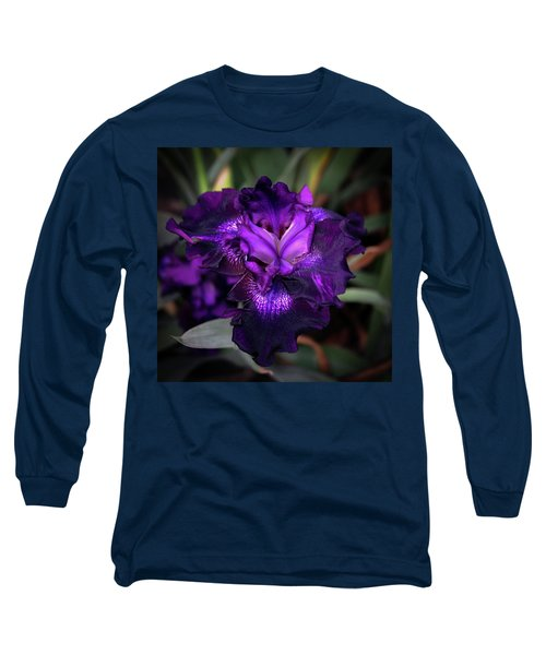 Purple Iris 5994 H_2 Long Sleeve T-Shirt