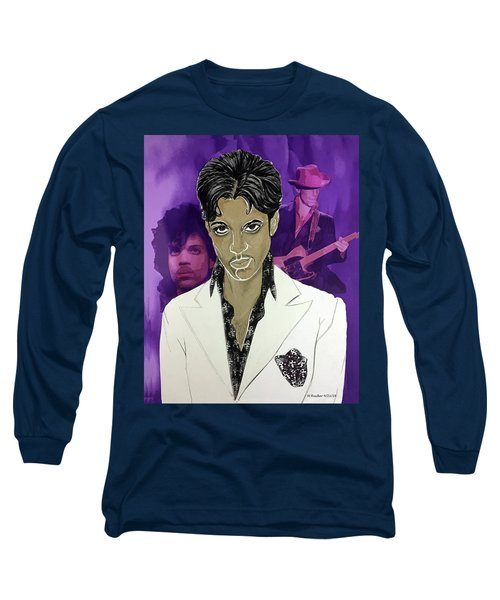Purple Reign 1959 - 2016 Long Sleeve T-Shirt