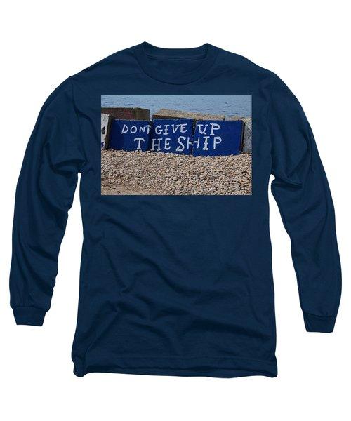 Put-in-bay Shoreline II Long Sleeve T-Shirt by Michiale Schneider