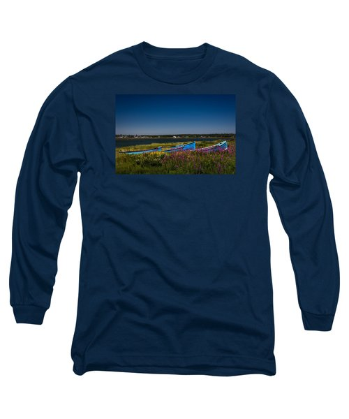 Put Out To Pature Long Sleeve T-Shirt by Peter Scott