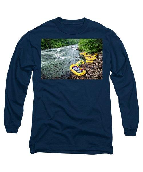 Rafting The Ocoee Long Sleeve T-Shirt