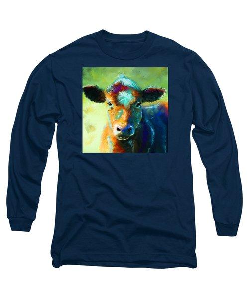 Rainbow Calf Long Sleeve T-Shirt