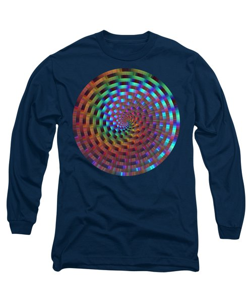 Rainbow Rings Spiral Long Sleeve T-Shirt
