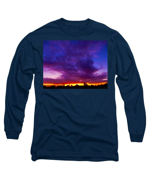 Rainbow Sunset Long Sleeve T-Shirt