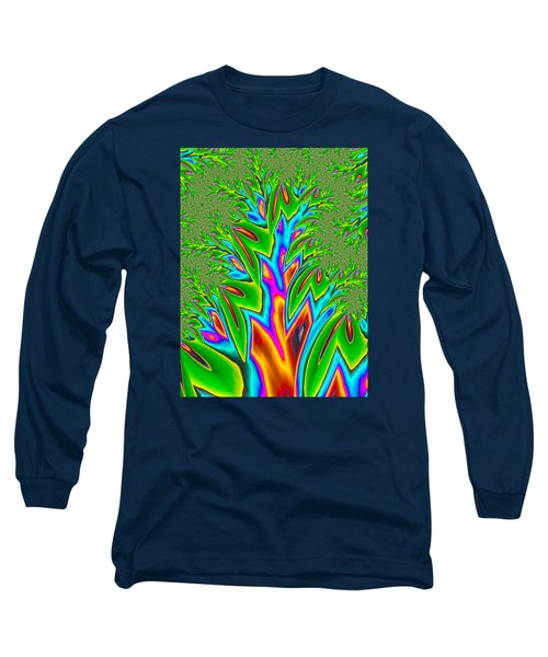 Long Sleeve T-Shirt featuring the photograph Rainbow Tree by Ronda Broatch