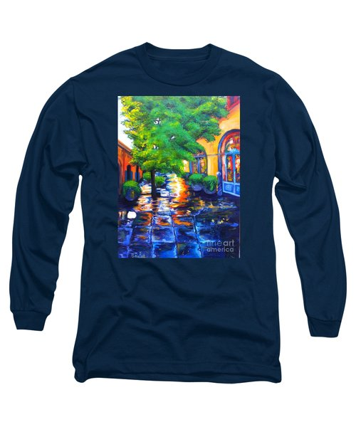 Rainy Dutch Alley Long Sleeve T-Shirt