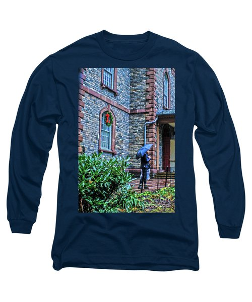 Long Sleeve T-Shirt featuring the photograph Rainy Sunday by Sandy Moulder