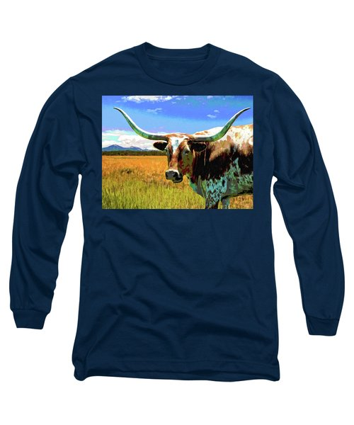 Raised In The Usa Long Sleeve T-Shirt