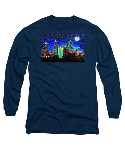 Raleigh In Winter Long Sleeve T-Shirt