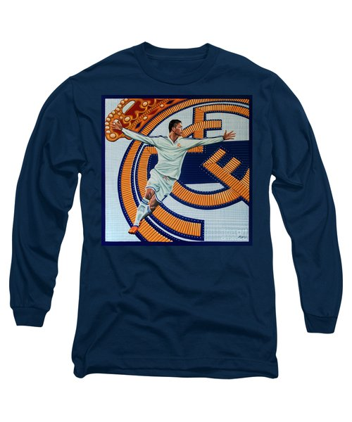 Real Madrid Painting Long Sleeve T-Shirt