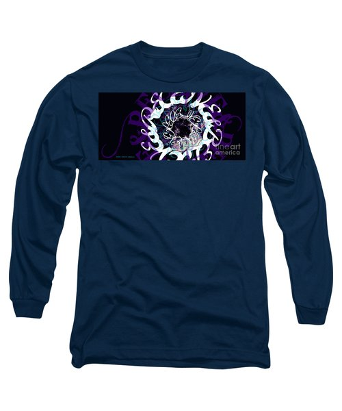 Receive And Believe In Black Long Sleeve T-Shirt