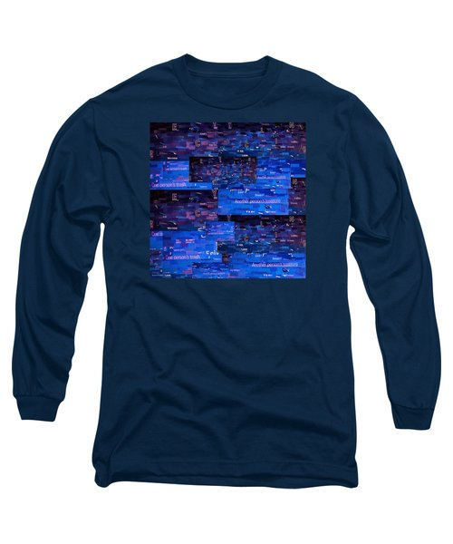 Long Sleeve T-Shirt featuring the digital art Recycling by Shawna Rowe