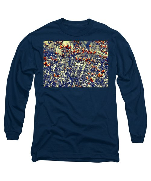 Long Sleeve T-Shirt featuring the photograph Red Army by Wayne Sherriff
