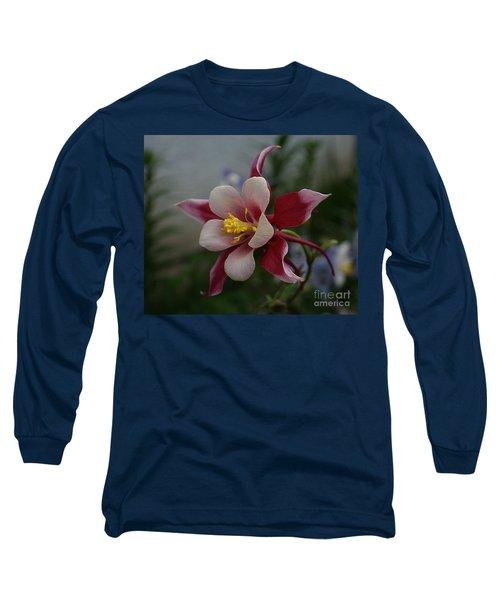 Red Columbine Long Sleeve T-Shirt